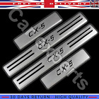 For Mazda CX-5 Door Sill Protector Scuff Plates Guard 2012-2016 Stainless Steel