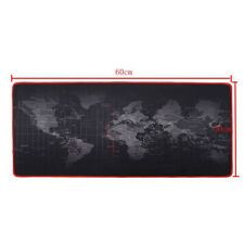 Large Mouse Mat Pad Keyboard World Map Design Desk Mats Big Size Laptop