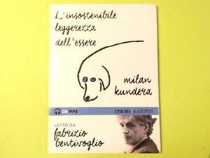 L'INSOSTENIBILE LEGGEREZZA DELL'ESSERE MILAN KUNDERA CD MP3