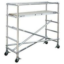 New! Scaffolding Narrow Span Adjustable Base Section 6' L Scaffold!