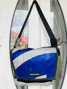 FREITAG Messenger Bag Blue and Gray Series G5.1 Shoulder Bag Unisex Tasche Rare