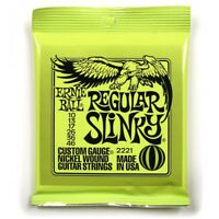 Ernie Ball Regular Slinky Electric Guitar Strings 10-46