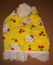 Dog Dress Outfit Clothes Chihuahua Toy Breed Medium Size Hello Kitty Cherry