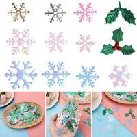 Home Decor Festival Ornament Xmas Snowflake Tinfoil Sequins Christmas Confetti