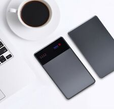 40000mAh Notebook Laptop Power Bank 3.5A 19V DC 2 USB External Battery Charger
