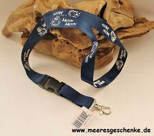 Schlüsselanhänger / Keyholder / Schlüsselband maritim Moin Moin ca. 54 cm