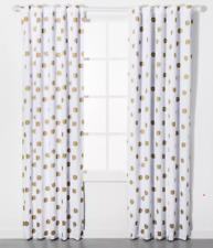 "Dot Blackout Curtain Panel Pillowfort Rod Pocket Gold 63"" L x 42"" W"