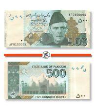 Pakistan 500 Rupees 2008 Unc Pn 49c Prefix AF