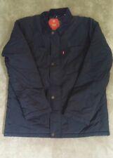 Levis Performance Jacket Barn Coat Mens L Navy NWT