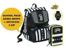 Juventus SchoolPack Winner Forever Zaino più astuccio  Seven 2020/21