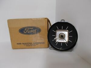 NOS 1968 1969 Lincoln Continental Mark III Clock Serviced Works Perfectly 68 69