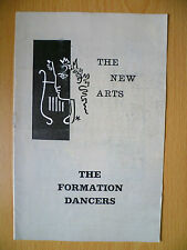 .1964 New Arts Theatre:Michael Codron- THE FORMATION DANCERS by Frank Marcus