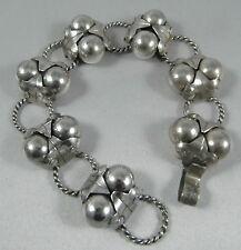 Art Deco 36gm Mexican sterling silver Spratling design Cocos bracelet Pre 1948