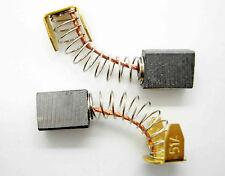 PAIR OF Carbon Brushes Toledo TBS-800 Belt Sander TBS 800 Screwfix M3A