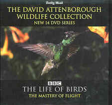David Attenborough - THE LIFE OF BIRDS - THE MASTERY OF FLIGHT - DVD