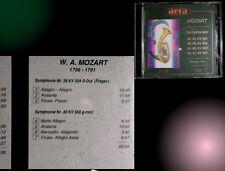 2 CD=Mozart Symphonien Nr. 35+38+40+41 = 120:37 min Fantastisches für die Ohren