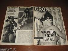 RIVISTA CRONACA=1967/37=COVER FEMI BENUSSI=DELITTO CARUGATE MI=POMPEI=BARANZATE=