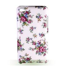 Rose Flower Hard White Case Back Cover for ipod touch 4 gen 4th generation G4 4G