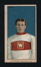 1910-11 C56 IMPERIAL TOBACCO ~ #10 ~ HARRY HYLAND ~ ROOKIE CARD ~ HOF