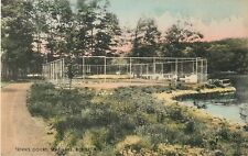 A View Of The Tennis Court, Salvation Army Camp, Star Lake, Butler New Jersey NJ