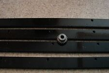 "CNC Plasma table mech Rack & Gear 96"" Rack (4x24""pcs) & a 20T 14mm pinion gear"