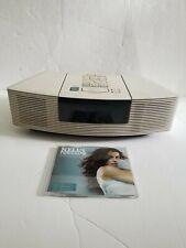 Bose Wave Radio CD Player AWRC3P Music System AM FM in Platinum White *WORKING*