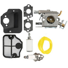 Carburetor Carb For Husqvarna 136 141 137 142 36 41 Chainsaw Air Fuel Filter kit
