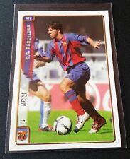 Lionel Messi rookie RC #617 CARD 2004 2005 MUNDICROMO las fichas Barcellona
