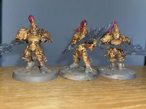 3x Adeptus Custodes Warhammer 40k Custodian Guard