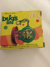 NEW 1998 MCDONALDS DISNEY A BUGS LIFE CLIP-TOCK WATCH COLLECTION POP TOPPER
