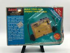 Elenco Amerikit AK-250 Cassette Player Kit Sealed Box Homeschooling Crushed Box
