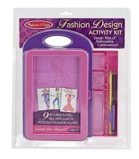 Melissa & Doug Fashion Design Activity Kit #4312 BRAND NEW
