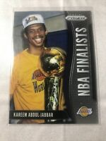 2019-20 Panini Prizm NBA Finalists #4 Kareem Abdul-Jabbar Los Angeles Lakers
