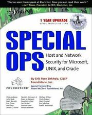 Special Ops: Host and Network Security for Microsoft, Unix, and Oracle-ExLibrary