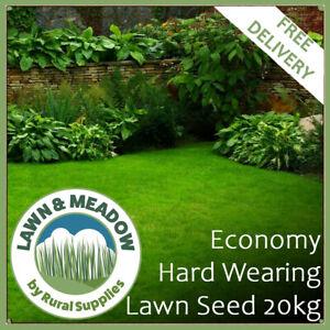 Economy Hard Wear Lawn Grass Seed 20KG-HIGH QUALITY AFFORDABLE SEED GARDENS BULK
