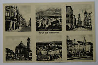 Schöne alte Ansichtskarte AK - Gruß aus Rosenheim Mehrbildkarte von ~1940