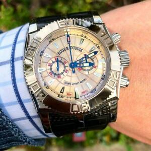 Roger Dubuis Easy Diver Chrono SE46.56.9/0 12.53 Champagne K18WG Manual wind