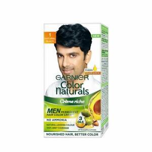 Garnier Couleur Naturals Hommes, Naturel Noir, 30ml+30gm (Paquet De 1)