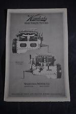 Ca 1920 Waukesha High Torque Motors Model E. U. Brochure (2)