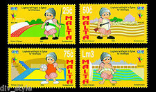 Games of the Small States of Europe set of 4 mnh stamps Malta 2003  #1125-8