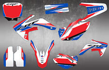 HONDA CRF150 MOTOCROSS GRAPHICS MX GRAPHICS CR 125 250 450 DECAL KIT / STICKERS