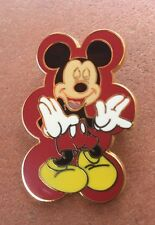 2008 Disney Pin Mickey Mouse Expressions Laughing Red Starter Laugh Dlr Wdw
