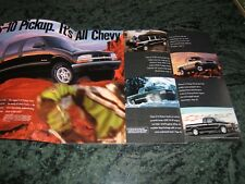 CHEVROLET S-10 PICKUP TRUCK BROCHURE 2001 LS ZR2 XTREME 32 pages
