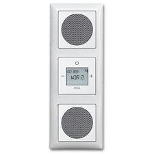 Busch Jäger Radio 3f Komplett Set 8215 U 8215U inkl. 2x Lautsprecher Balance SI