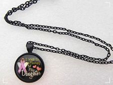 I Walk In Memory Of My Daughter Necklace,Hearts,Wings,Research,Awareness,Support