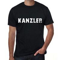 kanzler Herren T-shirt Schwarz Geburtstag Geschenk 00548