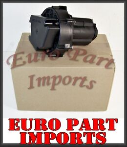 Mercedes-Benz Electric Secondary Air Smog Pump + Relay BOSCH Germany OEM Qty