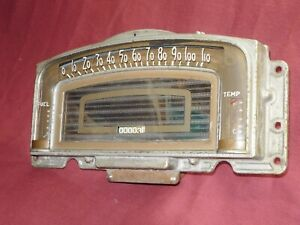 VINTAGE SERVICED WORKING  1939 HUDSON COUNTRY CLUB INSTRUMENT CLUSTER  COMPLETE