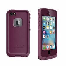 LifeProof Fre Waterproof Shockproof Drop Purple Case Cover for iPhone 5 5s SE