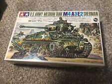 tamiya mokei M4A3E2 sherman tank 1/35 motorized model kit m4 jumbo